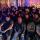 Migrantes detenidos en Laredo, Texas.