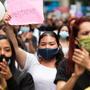 Cientos de personas macharron en Buenos Aires para exigir justicia por la joven venezolana que sufrió un abuso sexual cuando acudió a una entrevista de trabajo.