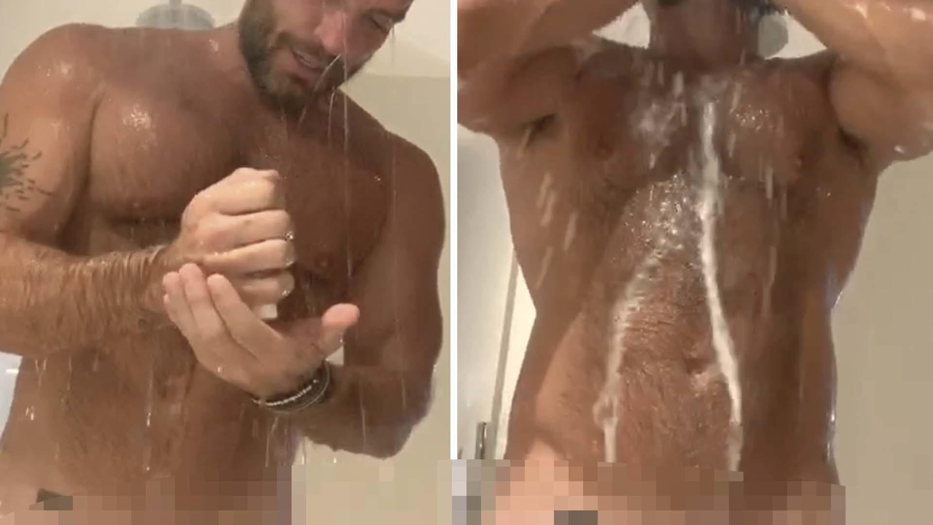 Anel Rodríguez Desnuda julián gil se graba desnudo desde la regadera (video