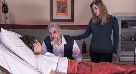 Aracely Arámbula, Marco Treviño, María Barbosa en Los Miserables