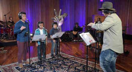 Daddy Yankee Miguel Joseph José Ensayos La Voz Kids 2016