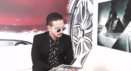 J Balvin foto de Instagram 2016