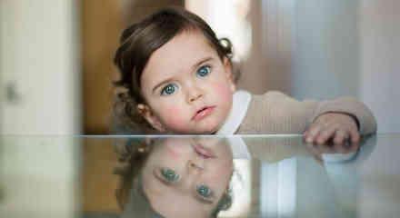 Niña de ojos bonitos