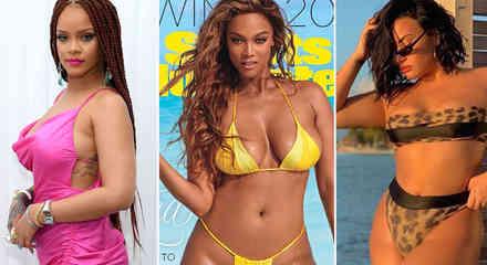 Collage famosas curvy