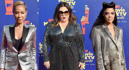 Tessa Thompson, Jada Pinkett Smith, Melissa McCarthy en los MTV Movie & TV Awards 2019
