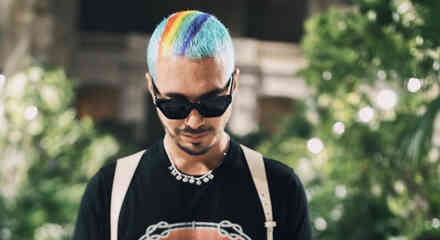 J Balvin's Most Colorful Hairstyles