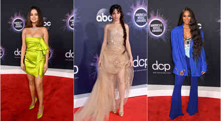 Selena Gomez, Camila Cabello, Ciara en la alfombra roja de los American Music Awards 2019