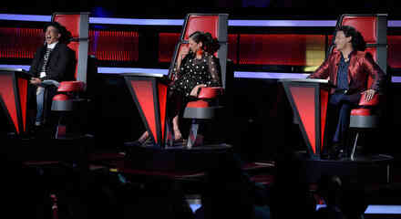 Natalia Jiménez Pedro Fernández y Daddy Yankee en la semifinal de La Voz Kids