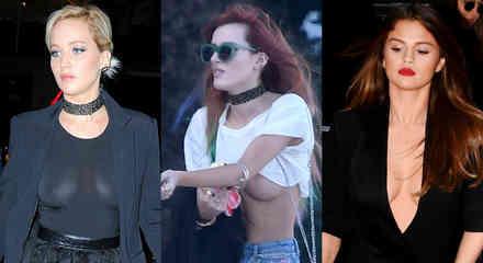Jennifer Lawrecene, Bella Thorne, Selena Gomez.
