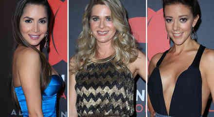 Natpe, actrices, Carmen villalobod, Sonya Smith, Fernanda Castillo