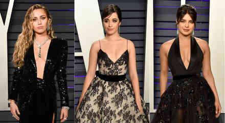 Miley Cyrus, Camila Cabello, Priyanka Chopra