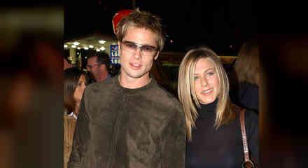 Bradd Pitt con Jennifer Aniston