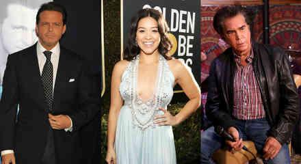 """Luis Miguel, Gina Rodriguez y José Luis Rodríguez """"El Puma"""""""