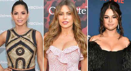 Carmen Villalobos, Sofía Vergara y Selena Gomez