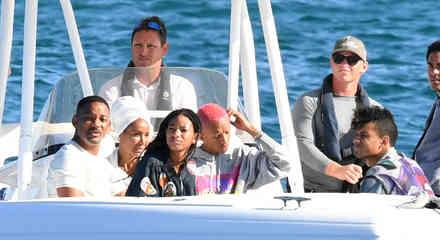 Will Smith en sus vacaciones familiares 2019