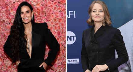 Demi Moore y Jodie Foster