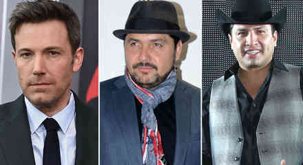Ben Affleck, Reyli Barba y Julión Álvarez