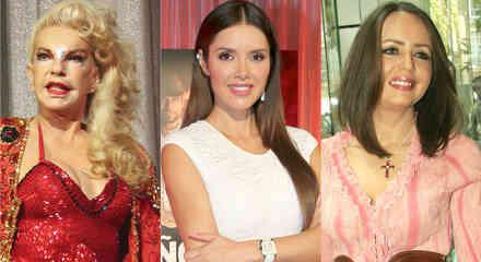 Wanda Seux, Marlene Favela y Daniela Spanic