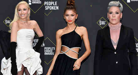 Zendaya, Gwen Stefani, Pink en los People's Choice Awards 2019