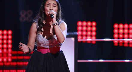 Gabriela en las batallas de La Voz Kids