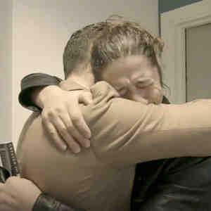 Juan Jiménez y su hermano Jonathan se reencontraron después de 32 años.