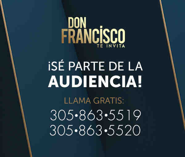 Don Francisco Te Invita audiencia