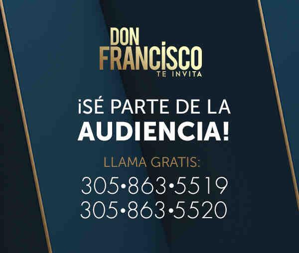 Don Francisco Te Invita audiencia