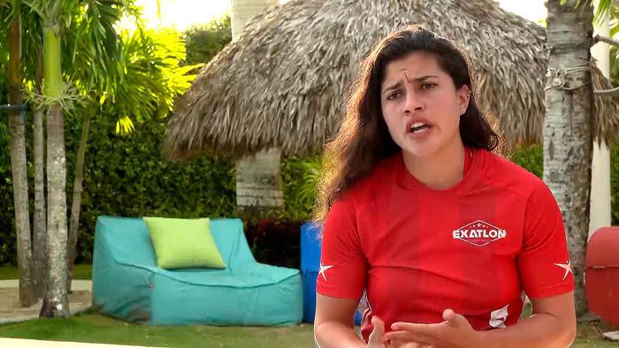Nona en entrevista en la Fortaleza