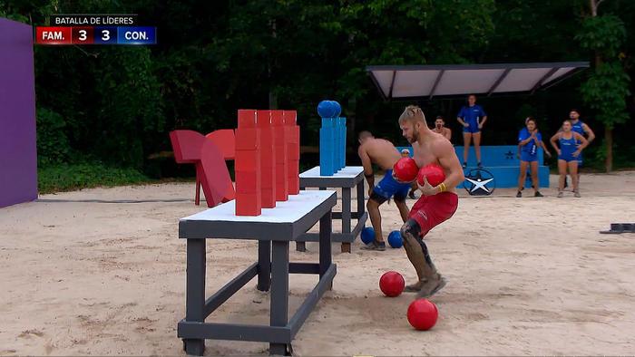 Nate y Chuy en la batalla de los líderes