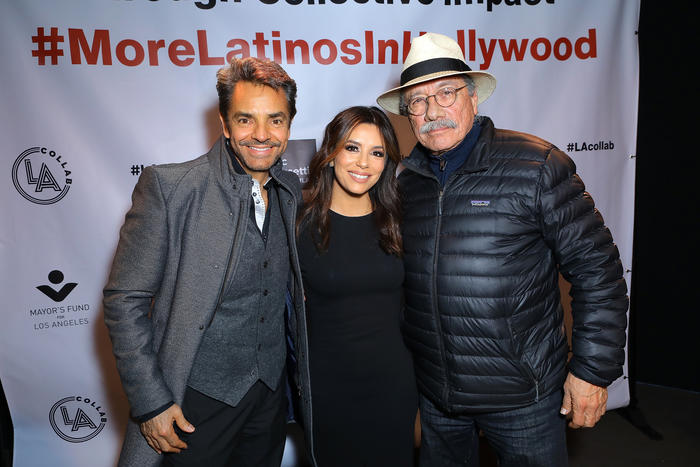 LA Mayor, Eva Longoria & More Entertainment Industry Leaders Launch 'LA Collab'