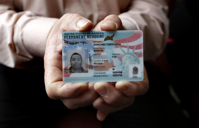El inmigrante mexicano Martín Sánchez por muchos años soñó con ser residente de los Estados Unidos hasta que finalmente lo consiguió el 8 de enero.