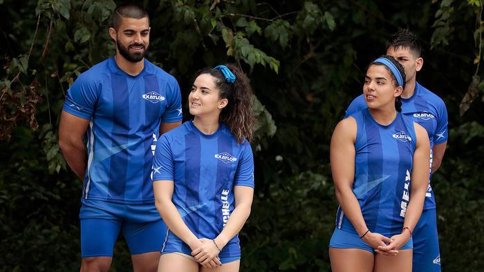 Michelle Terán con su nuevo equipo
