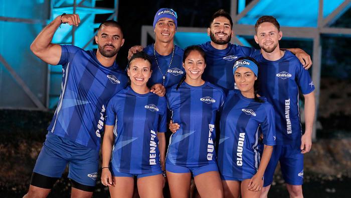 Emmanuel Jáquez y Claudia Martínez en su primera foto con Team Contendientes