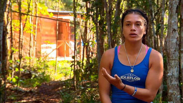 Dennhi preocupada en entrevista en la Cabaña
