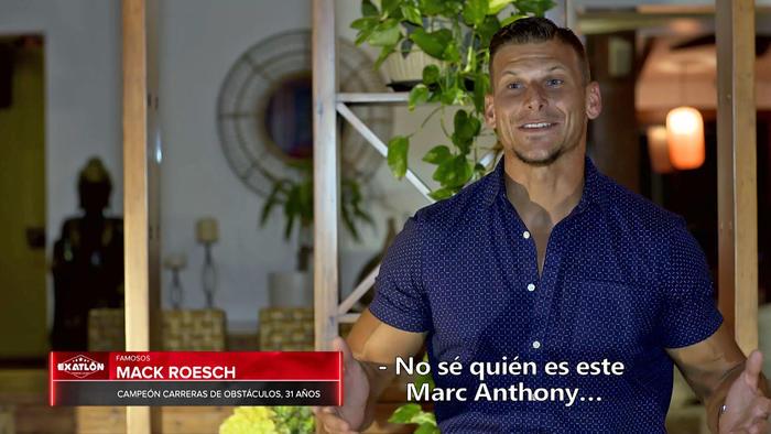 Mack dice que no conoce a Marc Anthony