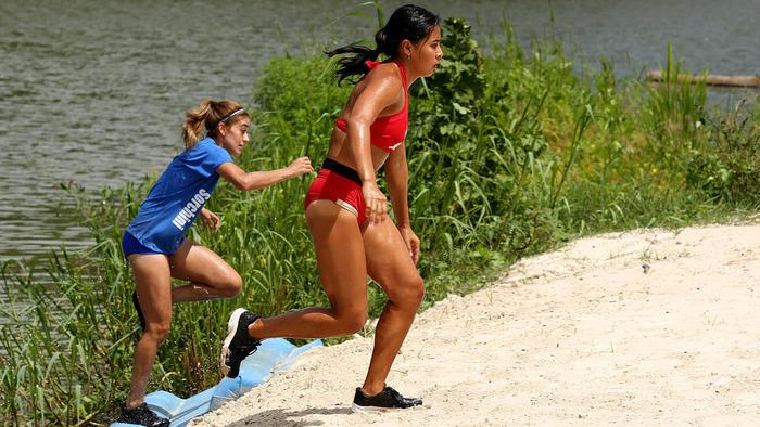 Shaila corre contra Ale Sorchini