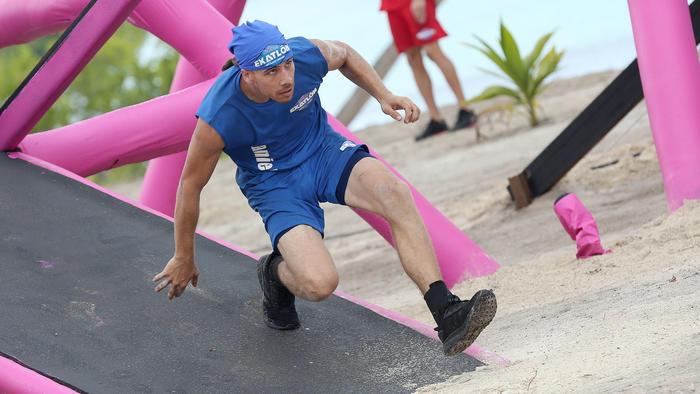 Daniel Osbahr bajando en el circuito
