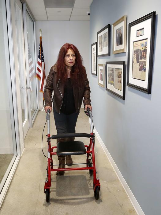 La salud de Sofia Johnson-Acevedo se vio mermada durante su estancia por cinco años en México a donde fue deportada pese a ser ciudadana estadounidense.