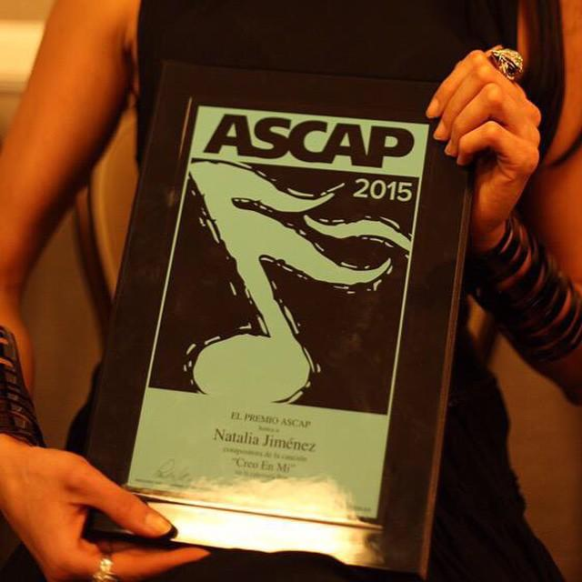 Premios ASCAP Natalia Jimenez