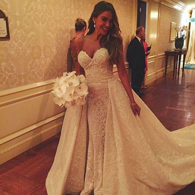 Sofía Vergara vestida de novia
