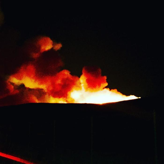 Incendio en Solimar Beach