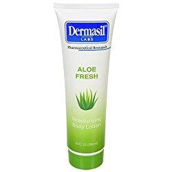 Loción corporal hidratante Dermasil Aloe Fresh