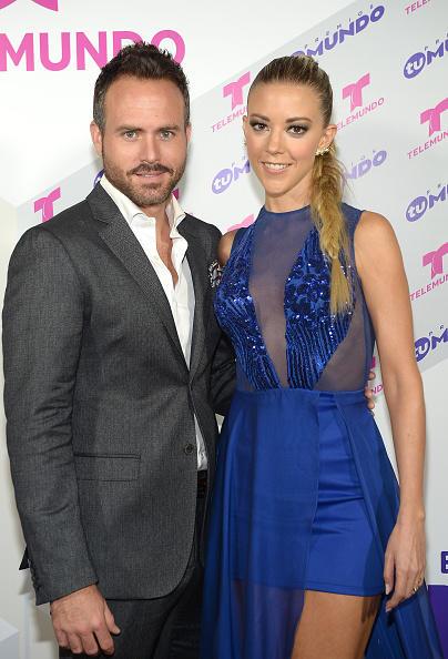 Fernanda Castillo and Erik Hayser at Telemundo's Premios Tu Mundo 2015