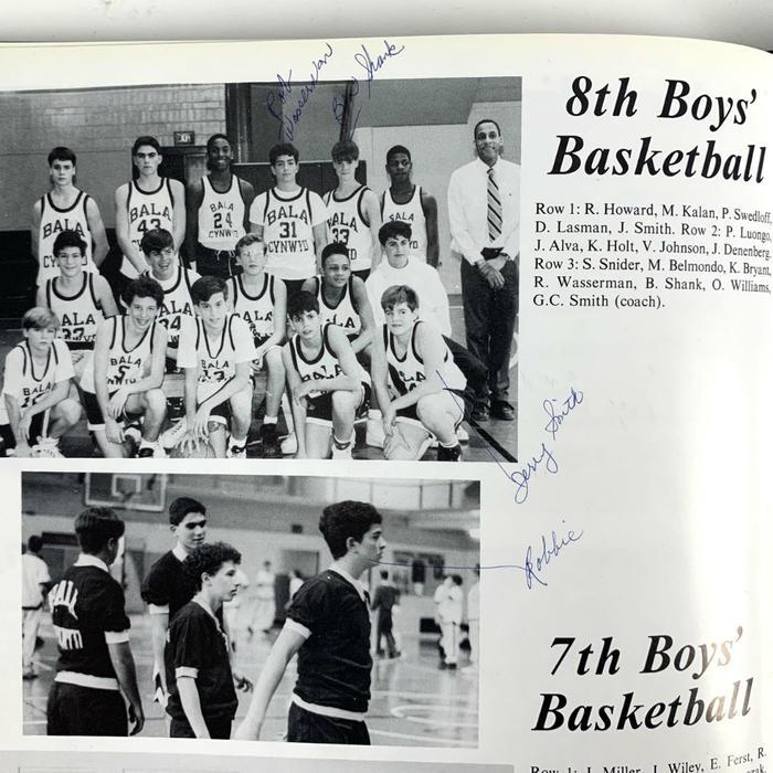 Kobe Bryant en secundaria