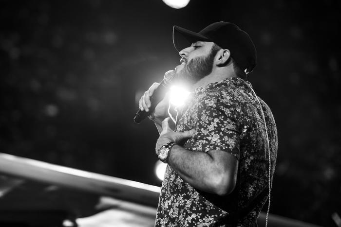 Gerardo Ortiz en los ensayos de Premios Tu Mundo 2017