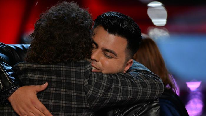 Abel Flores y Carlos Vives