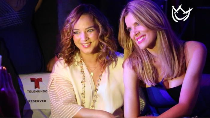 Adamari López junto a la actriz Maritza Rodríguez