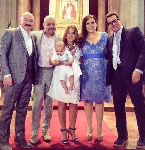 Adamari Lopez es la madrina del hijo de Angelica Vale