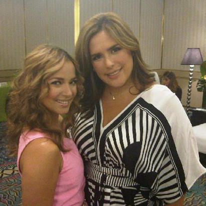 Adamari Lopez y Angelica Vale