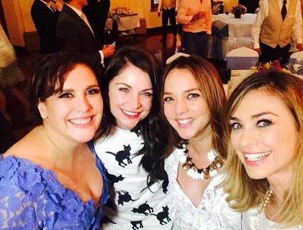 Angelica Vale, Ludwika Paleta, Adamari Lopez y Aracely Arambula